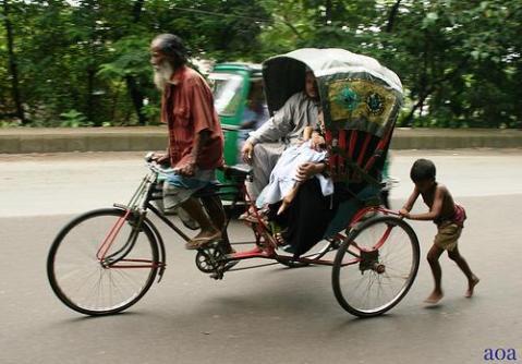 rickshaw-pusshers
